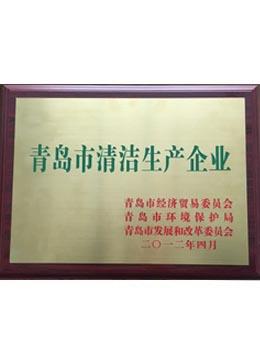 青岛市清洁企业