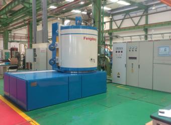 立式辅助加热离子氮化炉